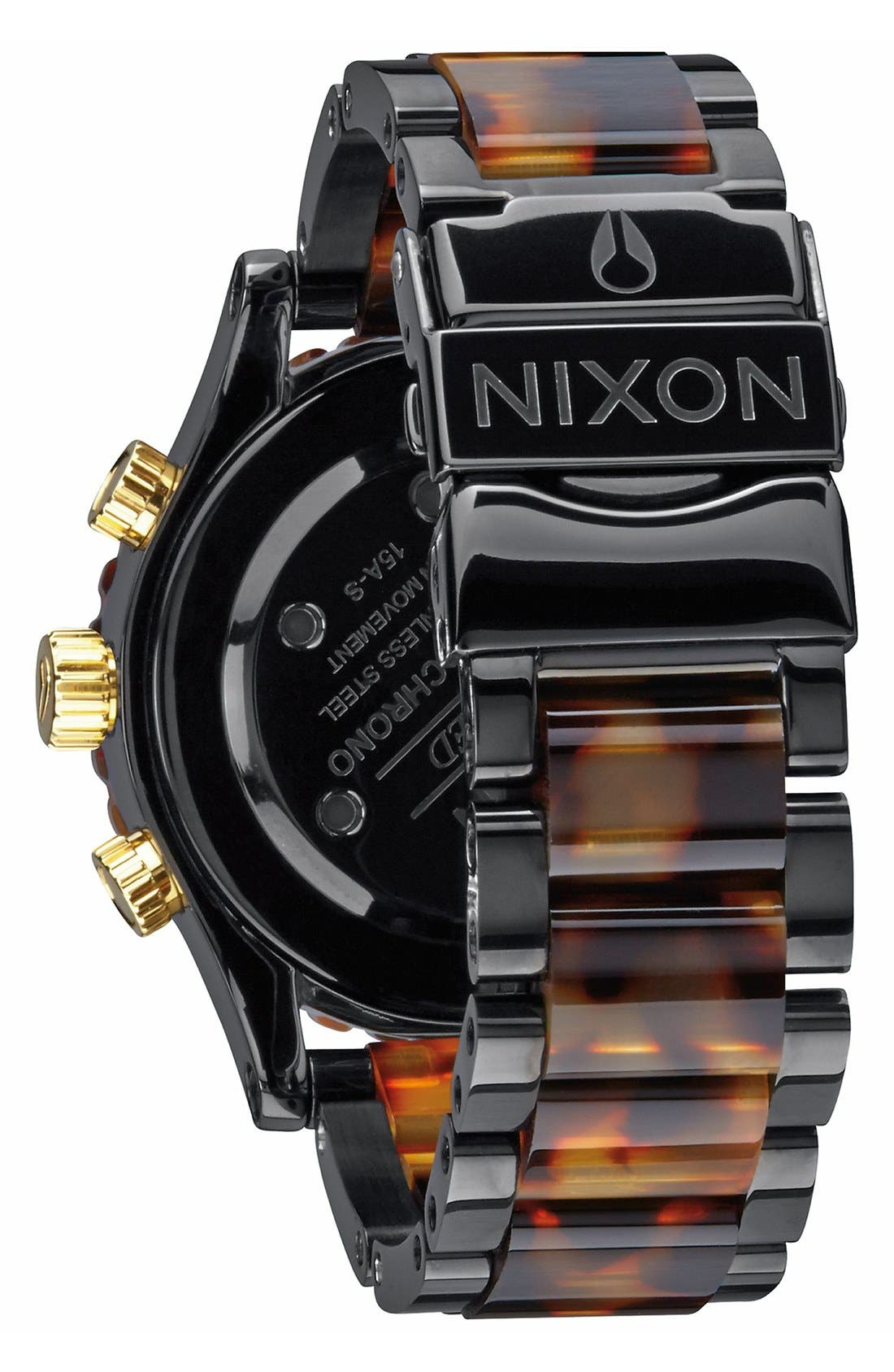 Alternate Image 2  - Nixon 'The 38-20' Extra Large Chronograph Bracelet Watch, 38mm