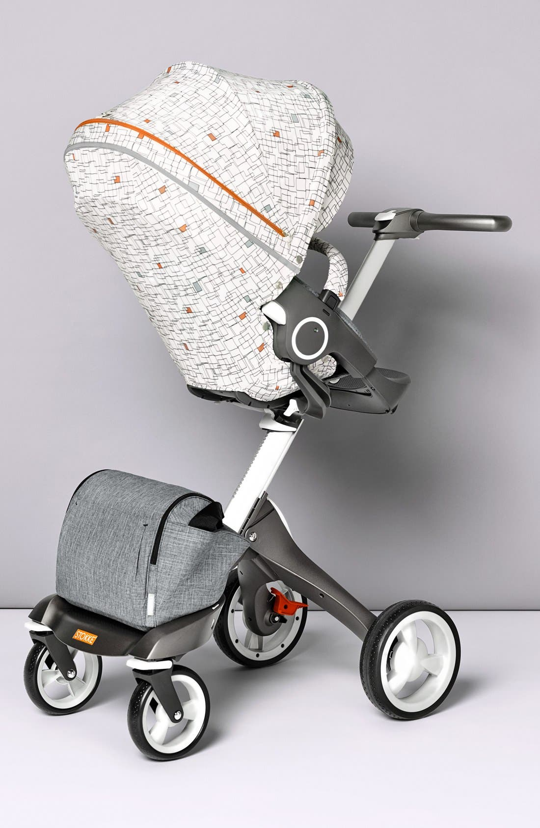 'Grid' Stroller Seat Style Kit,                             Alternate thumbnail 4, color,                             Grid