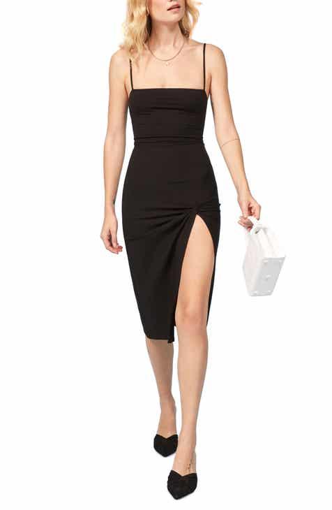 Reformation Scala Ribbed Body-Con Midi Dress a73e6ed8147
