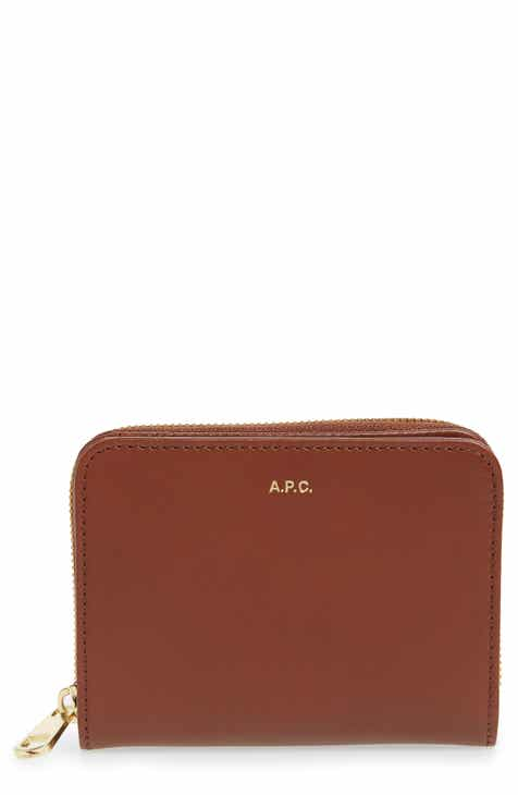 635123cfee37 A.P.C. Compact Leather Wallet