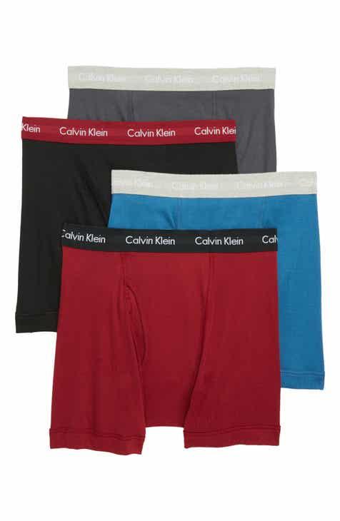 b6ba5b9ac1a Calvin Klein Classic 4-Pack Cotton Boxer Briefs