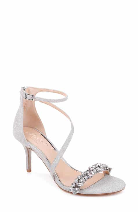 4f8d76d37a4b59 Jewel Badgley Mischka Danna Strappy Sandal (Women)