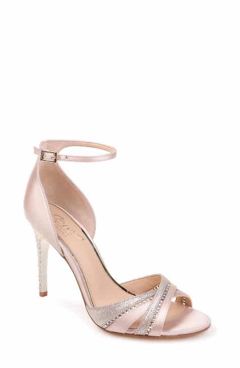 2613d9b4e49f Jewel Badgley Mischka Diablo Embellished Halo Strap Sandal (Women)