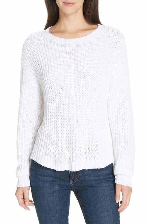 1302bd35fbb Eileen Fisher Crewneck Crop Shaker Sweater (Regular