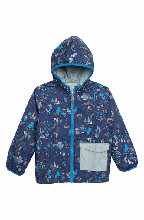 2965cfca7b Patagonia Puff Ball Water Resistant Thermolite® Insulated Reversible Jacket  (Toddler Boys)