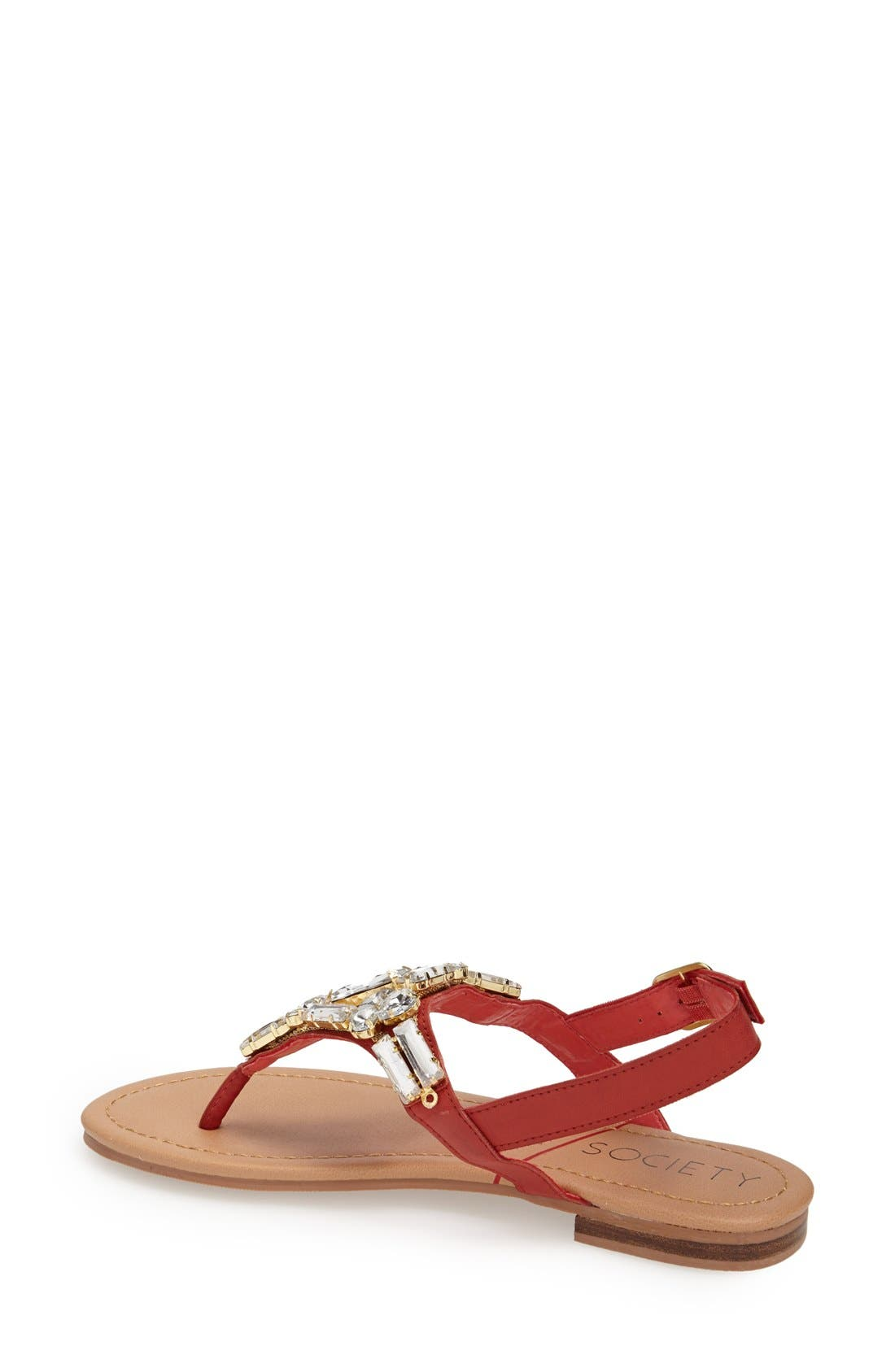 Alternate Image 4  - Sole Society 'Angelin' Crystal Sandal (Women)