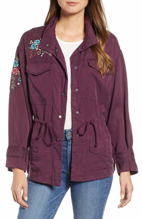 Sanctuary With Honor Linen Surplus Jacket (Regular & Petite) by SANCTUARY