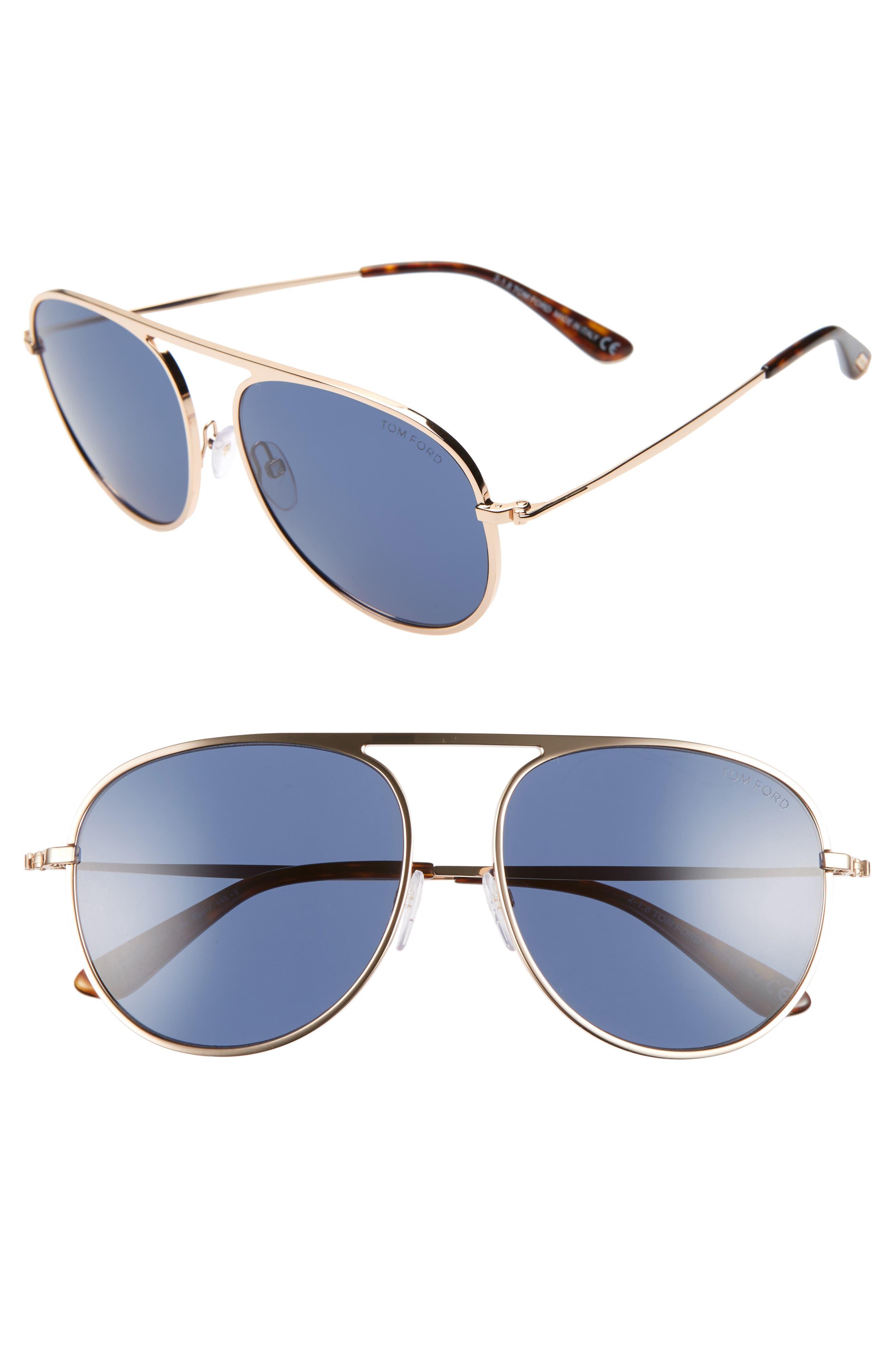 aa848e0cdd3 Aviator Tom Ford Sunglasses for Women   Men