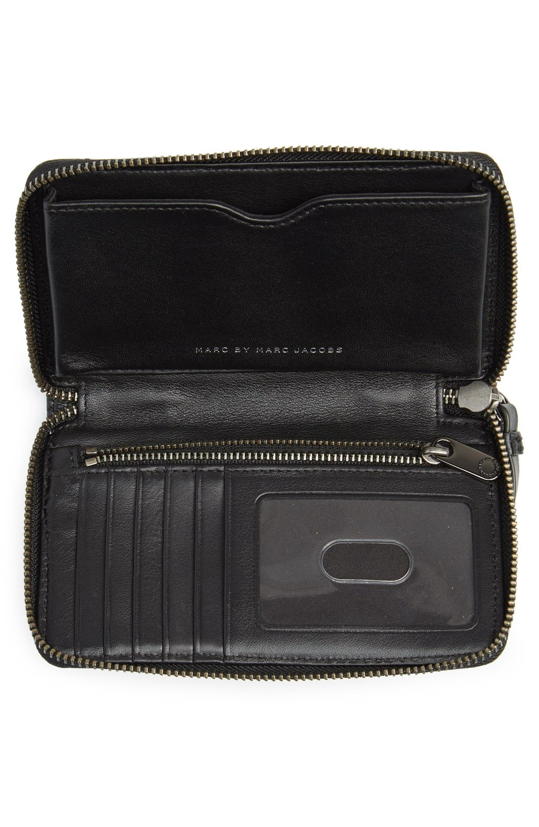 Alternate Image 2  - MARC BY MARC JACOBS 'Crosby - Wingman' Quilted Leather Phone Wristlet