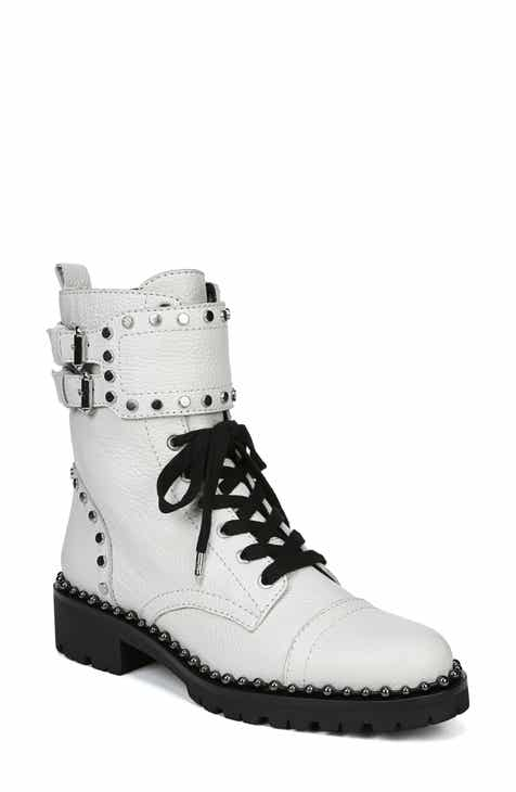 3a87c5c3dd5 Sam Edelman Jennifer Studded Combat Boot (Women)