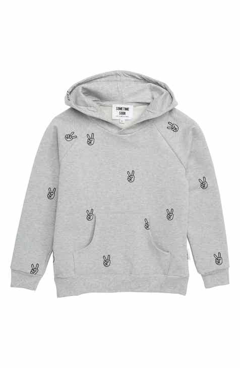 new arrival c4077 673fc Sometime Soon Power Print Hoodie (Toddler Boys   Little Boys)