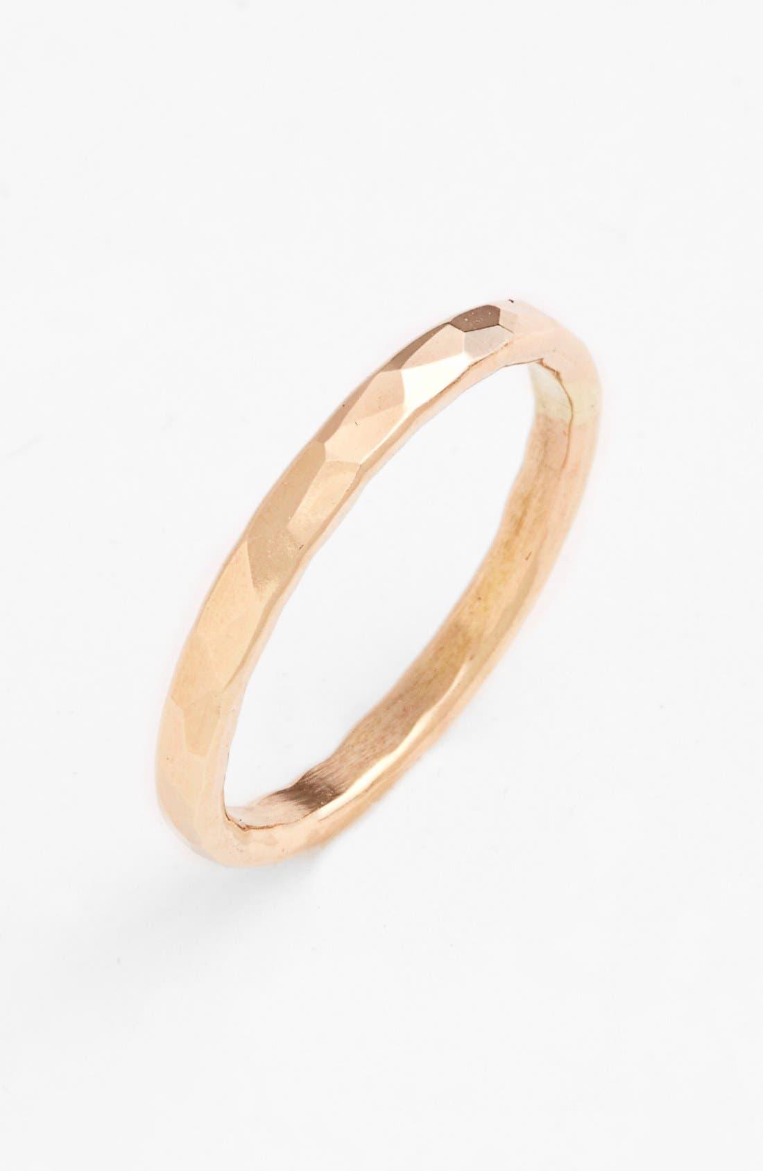 NASHELLE Ija Hammered Ring
