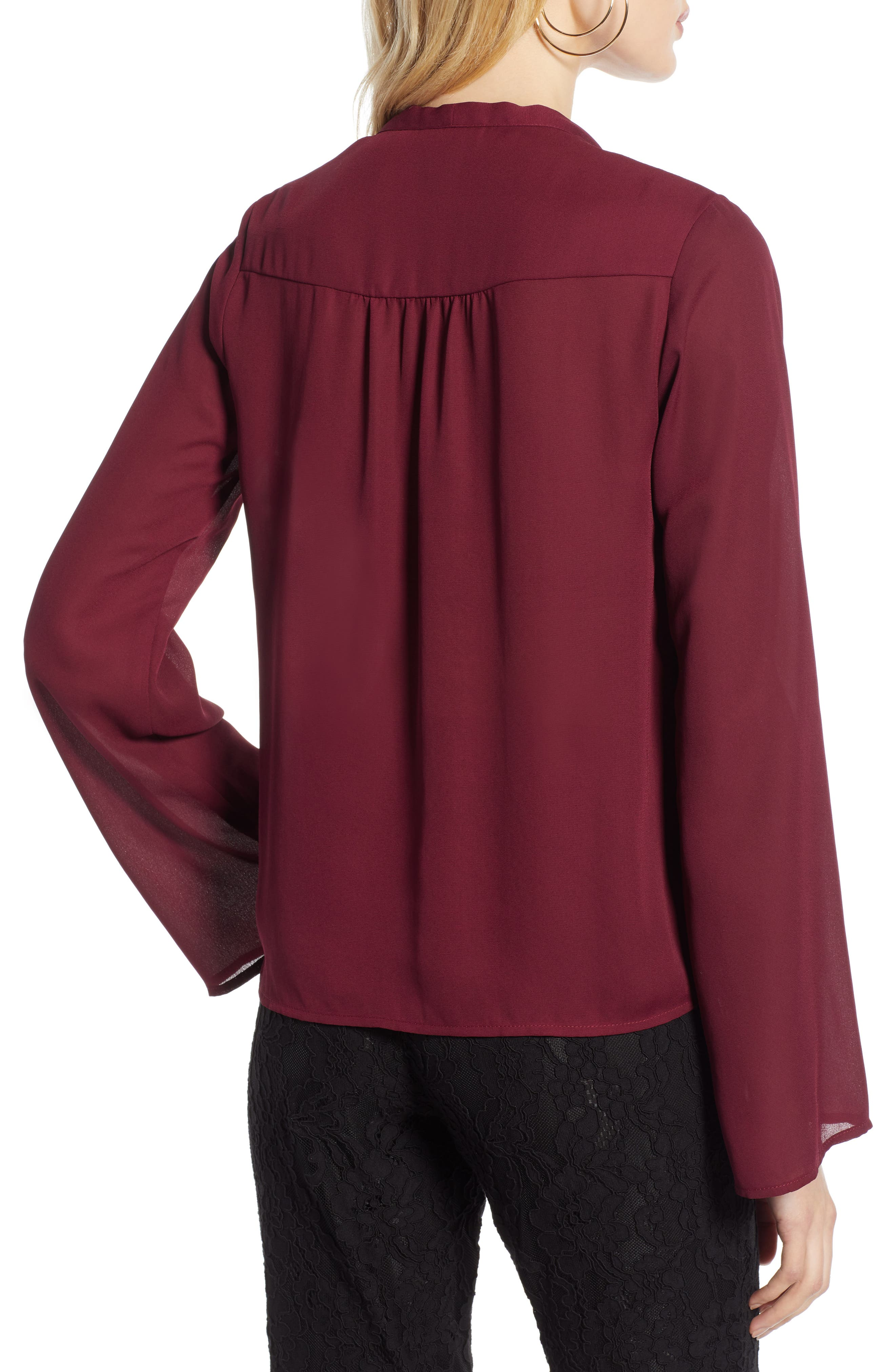 0275b308dc2b1c Gibson x Glam Squad Sheaffer Lace Top (Regular   Petite) (Nordstrom  Exclusive)