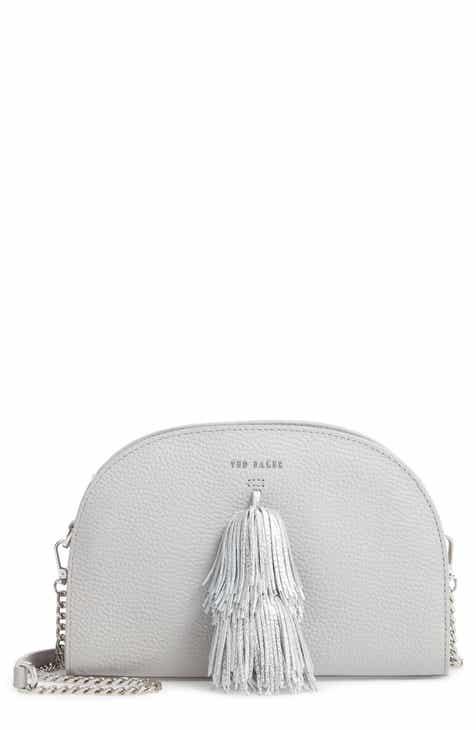 8ff21264b Ted Baker London Pom Leather Crossbody Bag