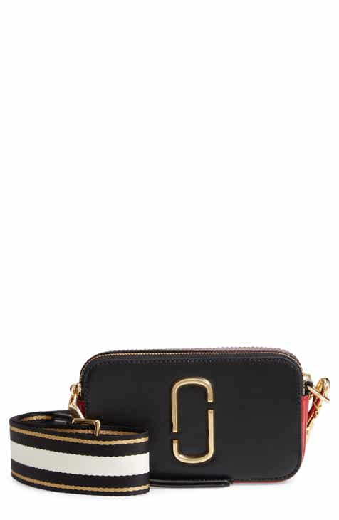 7b63a9662e MARC JACOBS Women s Black Handbags   Purses