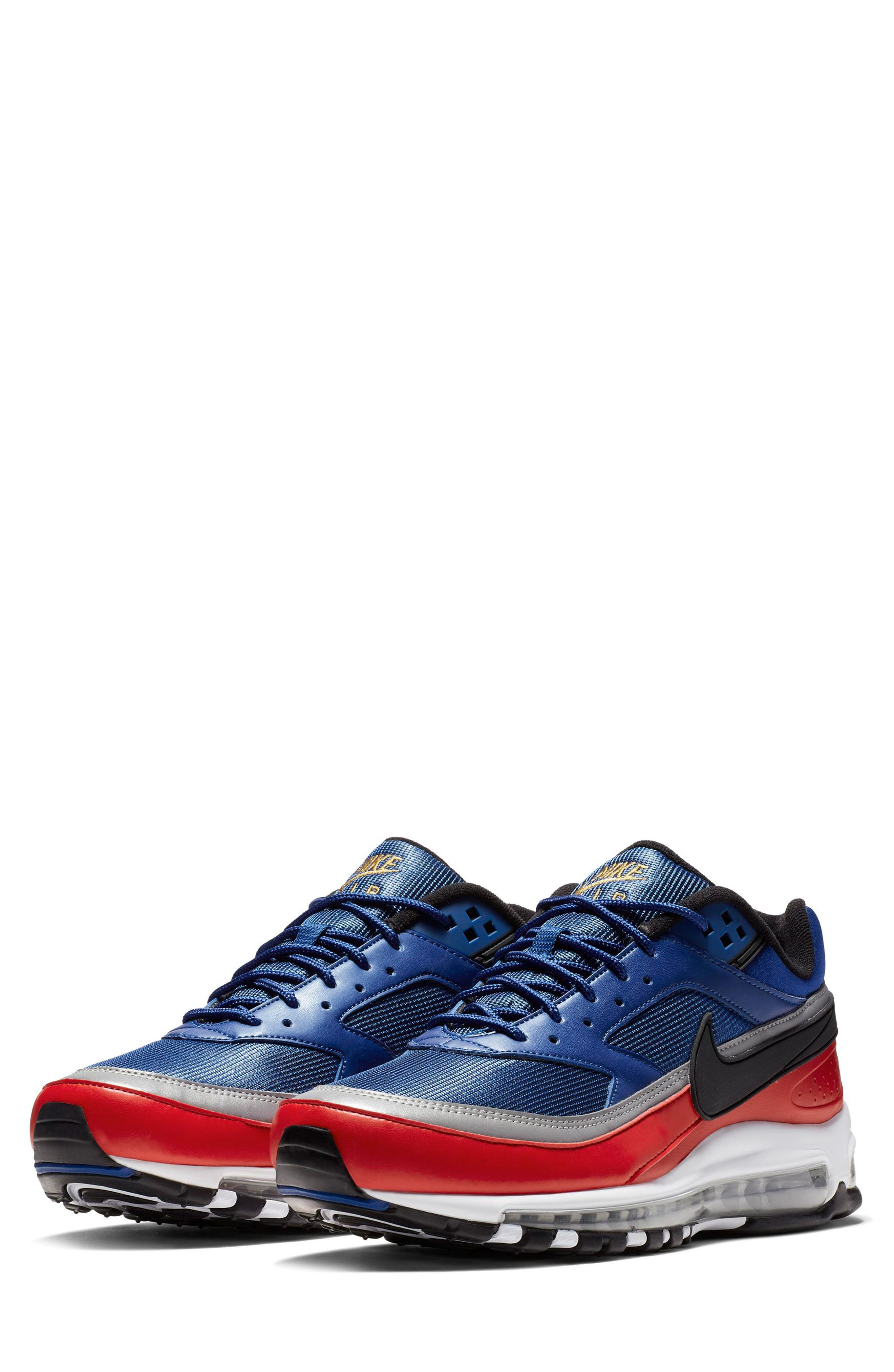 7b0957d819bf3 Nike Blue And Black Shoes Slip On | CONMEBOL