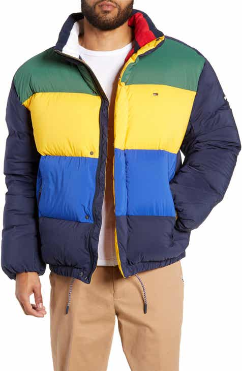 TOMMY JEANS Colorblock Down Jacket