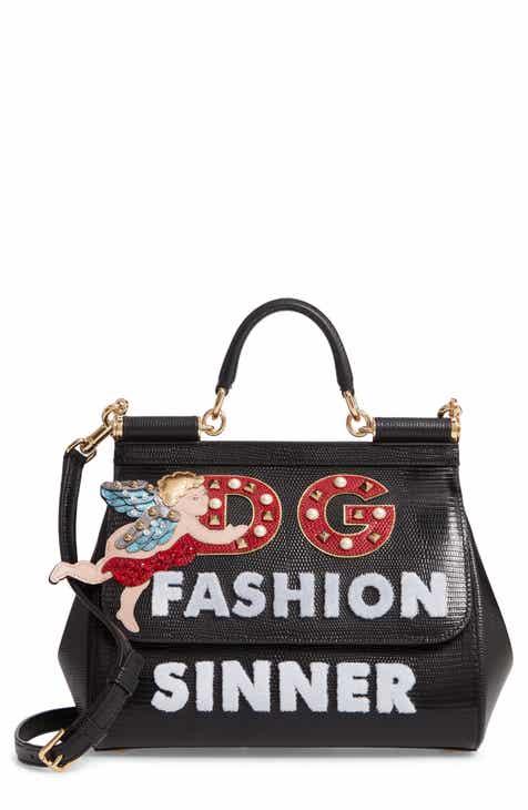 15ff942f83 Dolce Gabbana Small Sicily - Fashion Sinner Leather Satchel
