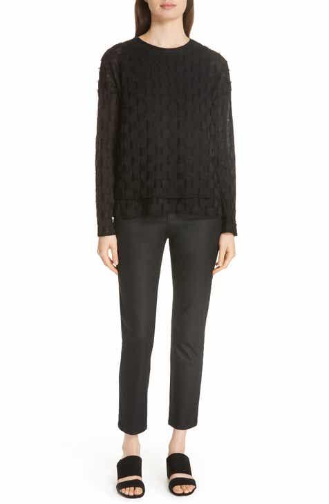 594b6e6203d Eileen Fisher Slim Ankle Jeans (Regular   Petite)