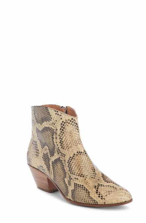 78969cea726 Isabel Marant Dacken Stacked Heel Bootie (Women)