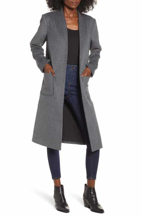 3915e99aaf0 Women s Grey Wool   Wool-Blend Coats