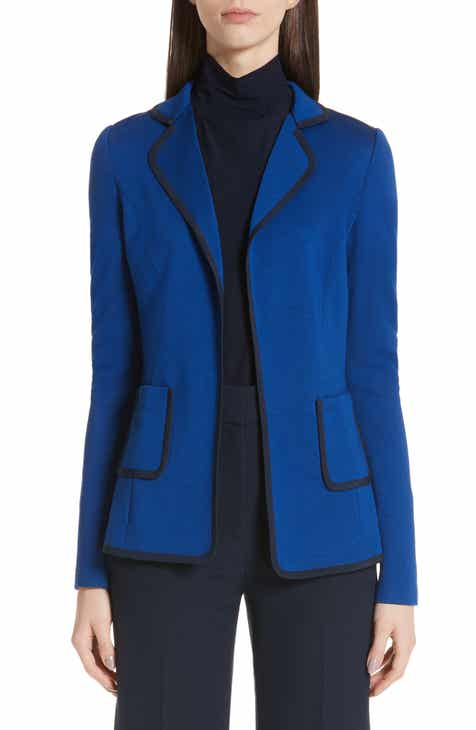 St. John Collection Patch Pocket Milano Knit Jacket by ST. JOHN COLLECTION