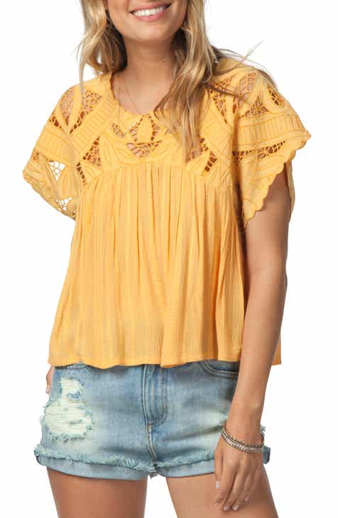54a9fa22f5c Rip Curl Seaview Cutwork Top