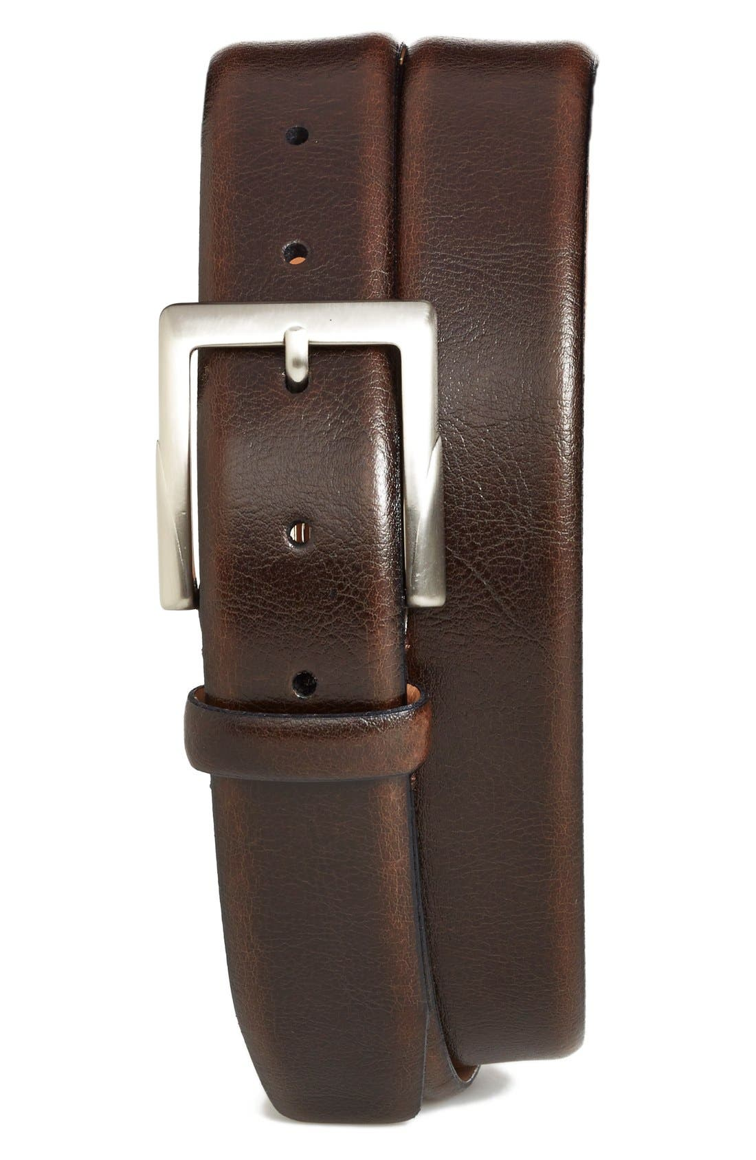 Alternate Image 1 Selected - Trafalgar 'Rafferty' Leather Belt