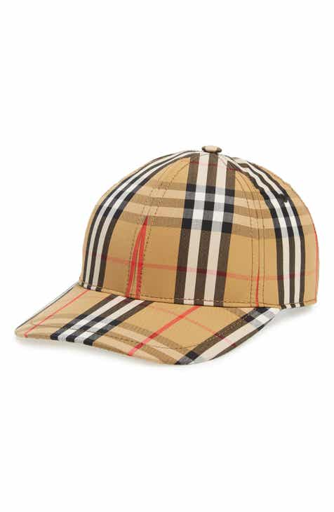 Burberry Vintage Check Baseball Cap fb918b06c898