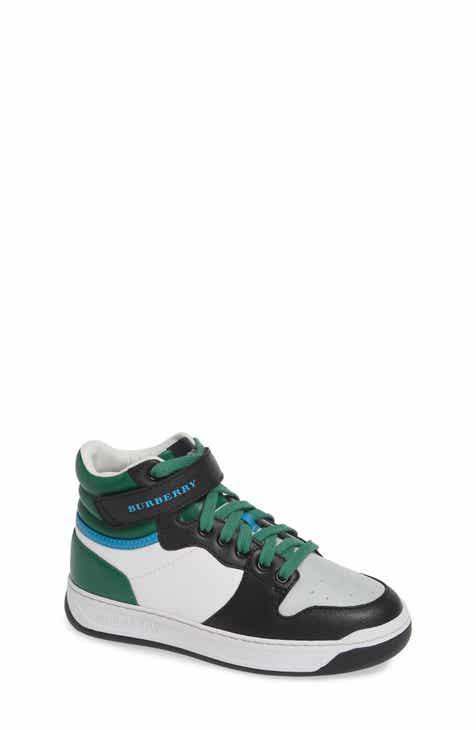 0d77d1277b4d3 Burberry Duke High Top Sneaker (Toddler