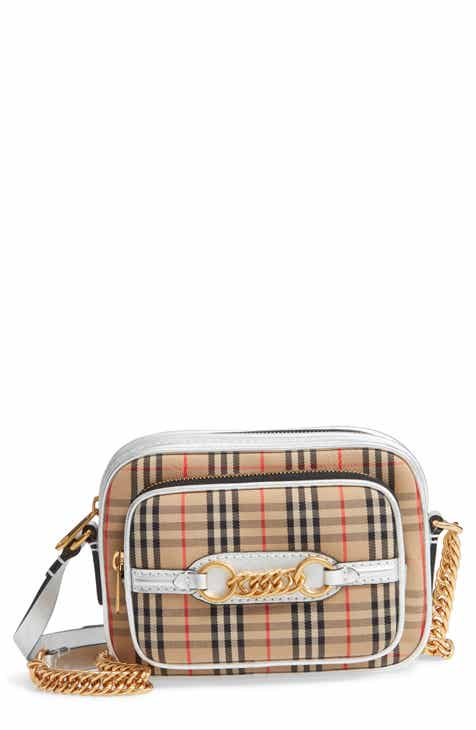 bdee7c067713 Burberry Vintage Check Link Crossbody Camera Bag (Regular Retail Price    990)