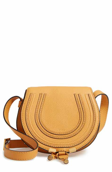 7ca4391693b1 Chloé  Mini Marcie  Leather Crossbody Bag