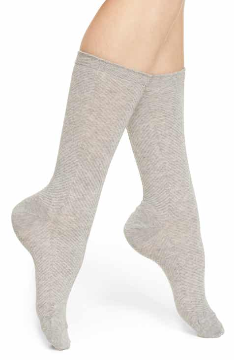 Nordstrom Soft Herringbone Trouser Socks by NORDSTROM