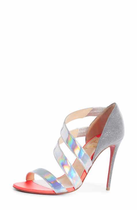 dc10eec7e7be Christian Louboutin World Copine Asymmetrical Sandal (Women)