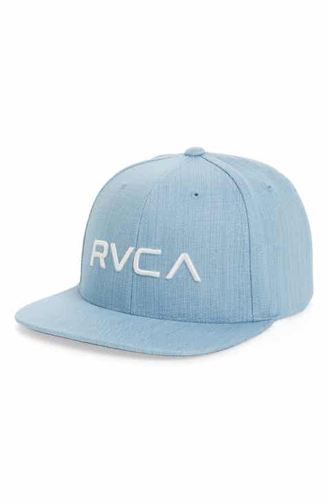 eafdfa9665 RVCA Twill Snapback Baseball Cap