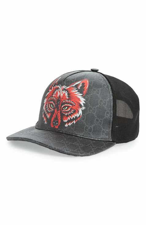 78d59f9c64dfa Gucci GG Supreme Fox Hat