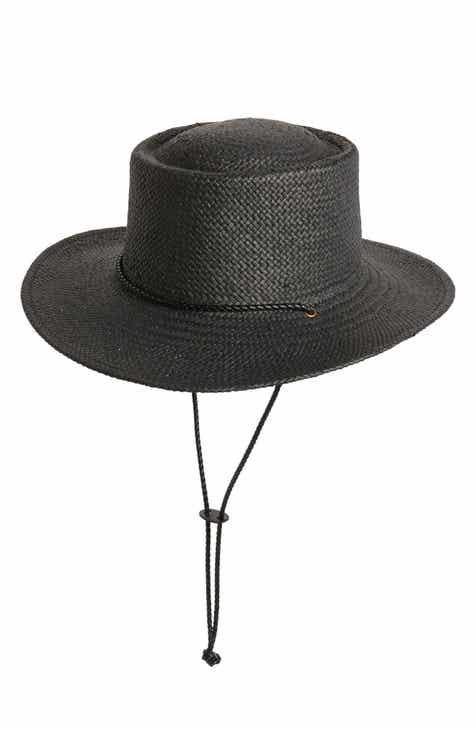 Treasure   Bond Woven Boater Hat 5490246907aa