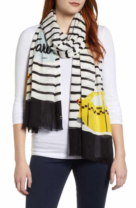 6245c50736e37 kate spade new york taxi stripe scarf