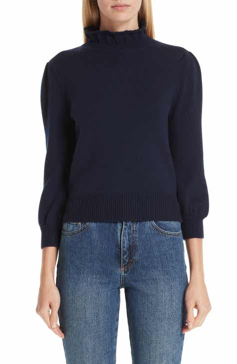 02c8277a6a Co Mock Neck Wool Sweater