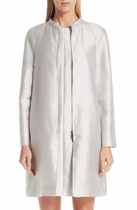 Emporio Armani Cotton & Silk Topper by EMPORIO ARMANI