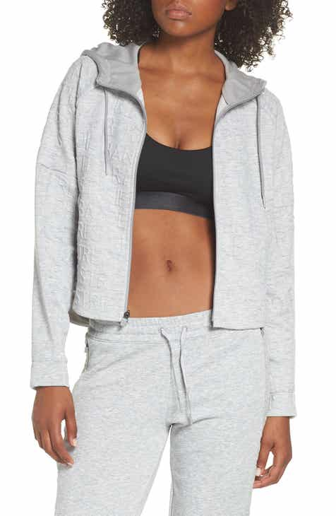 adidas ID Q4 Typo Crop Hooded Jacket fa8a5b6137