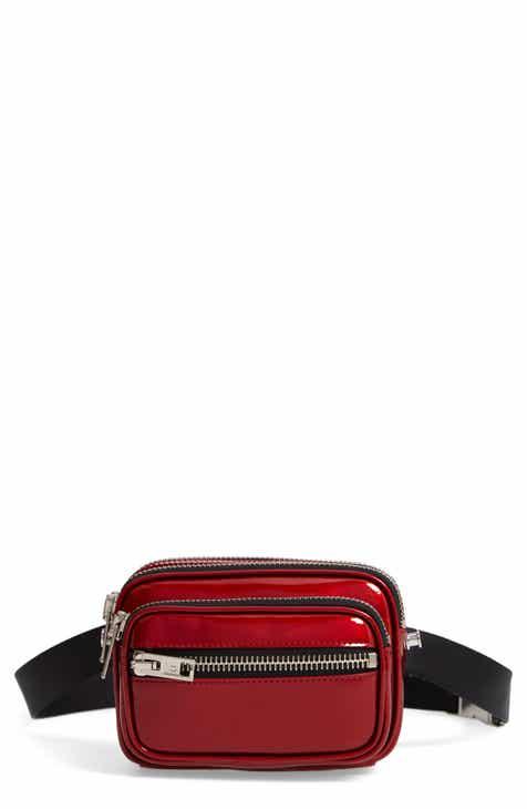 e451a9067a8 Alexander Wang Attica Leather Belt Bag