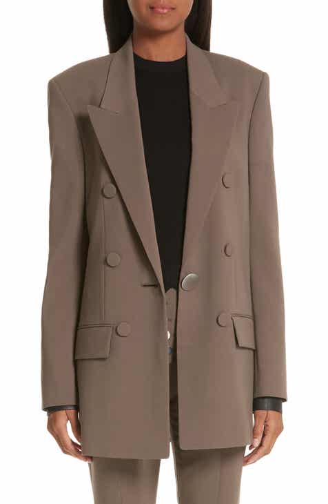 Alexander Wang Leather Cuff Blazer by ALEXANDER WANG