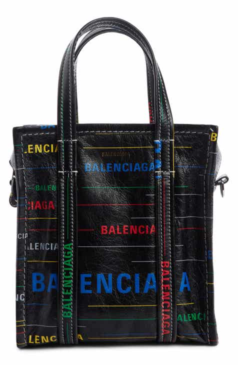 6316af695ef9 Balenciaga Extra Extra Small Bazar Leather Shopper