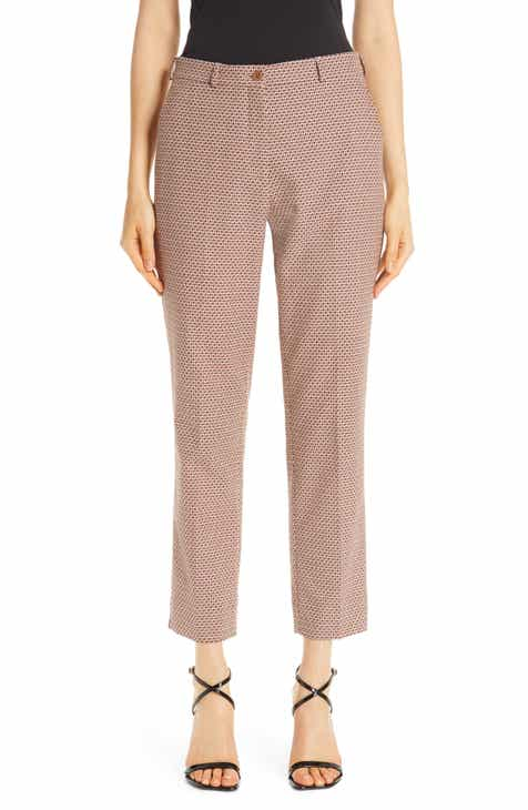 Etro Crop Stretch Cotton Pants by ETRO