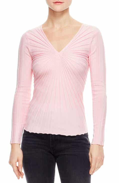 sandro Justine Starburst Ribbed Sweater by SANDRO