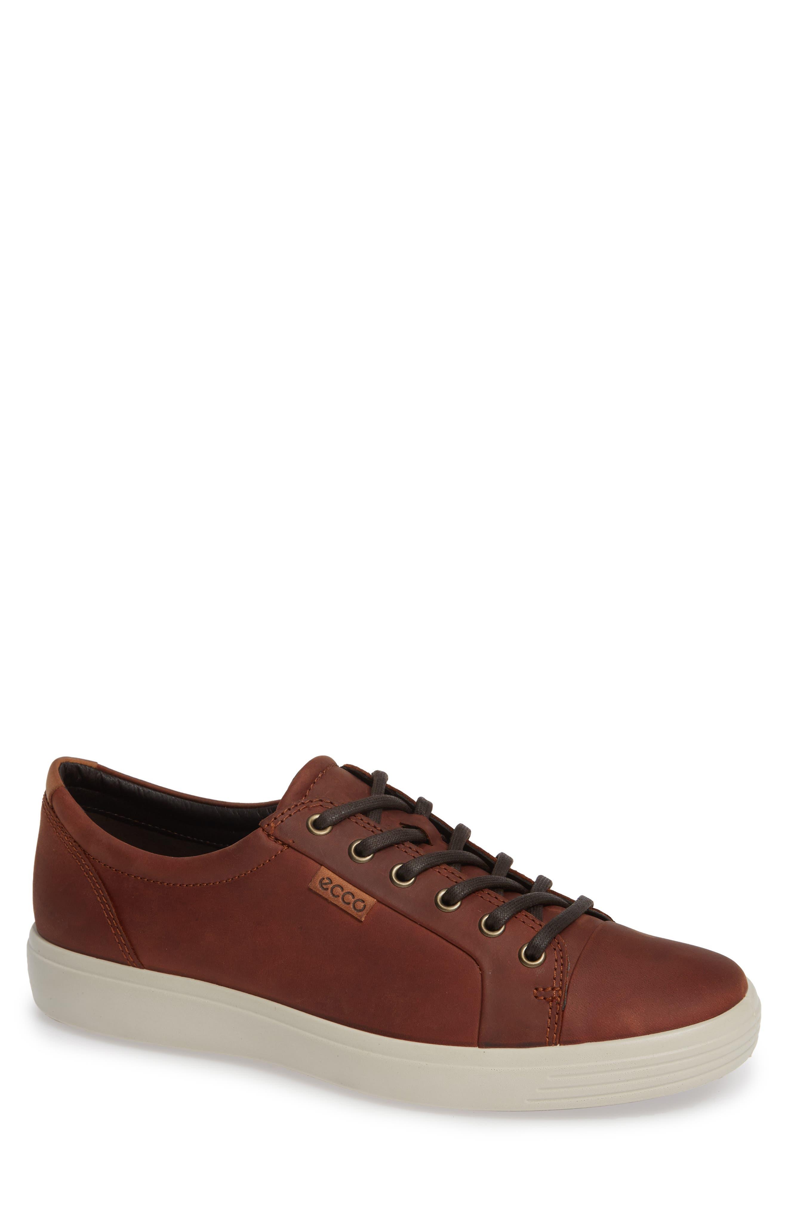 ecco Soft Mens Sneaker Low Herren Schwarz Schuhe