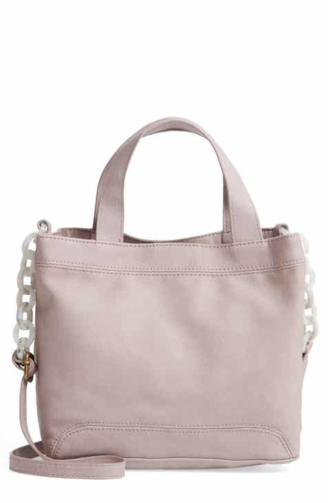 91eb84bbdeed T-Shirt   Jeans Resin Chain Strap Faux Leather Crossbody Bag