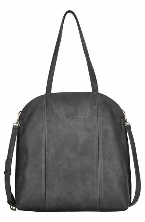 Antik Kraft Faux Leather Per Tote With Pouch