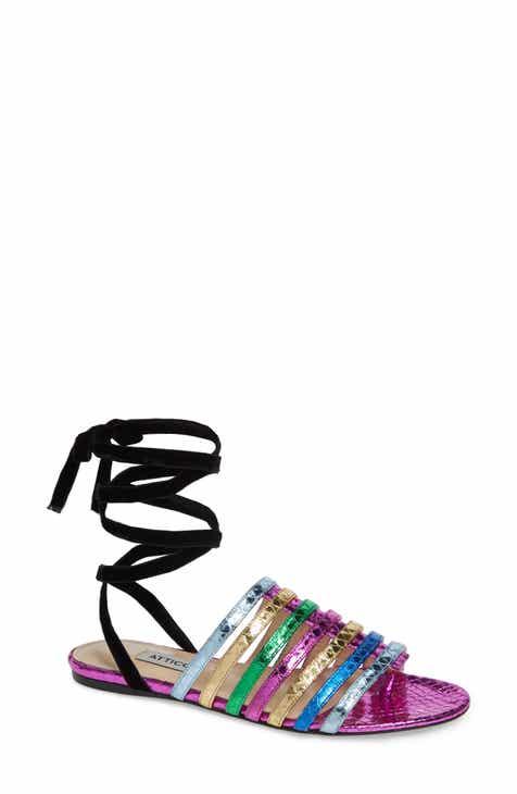 5e99a210c Attico Chiara Rainbow Ankle Wrap Sandal (Women)